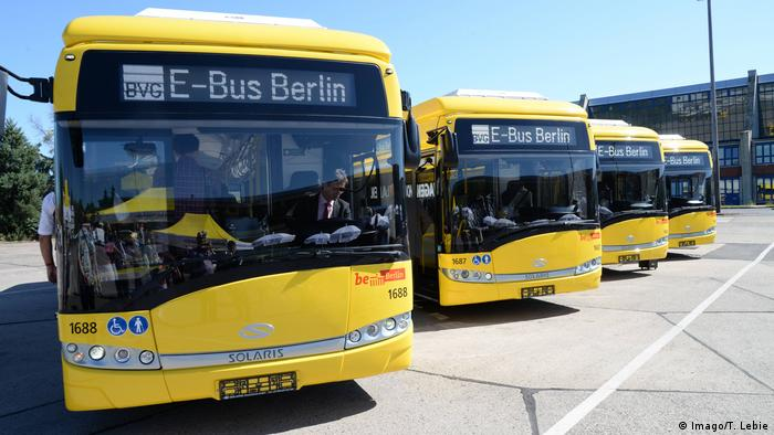 Solaris buses in Berlin