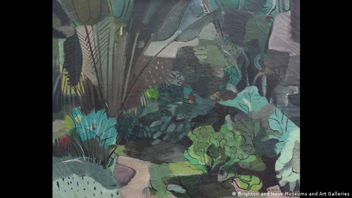 ROBERTO BURLE MARX, Landscape, 1943, Oil on canvas, 73 x 60 cm, Brighton and Hove Museums and Art Galleries