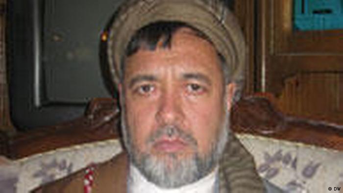 Mohammad Mohaqiq afghanischer Parlamentarier der Hazars (DW)