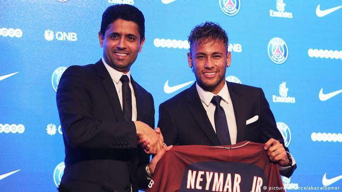 Frankreich Präsentation von Neymar Unveiling bei PSG
