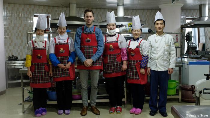 Nordkorea Schweizer Sternekoch Markus Arnold bereist das Land (Anders Stoos)
