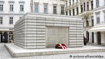 Vienna's memorial to the Austrian Jewish victims of the Holocaust