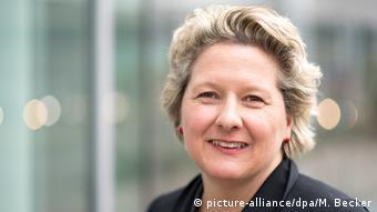 Deutschland Regierung Svenja Schulze, desiginierte Umweltministerin (SPD)