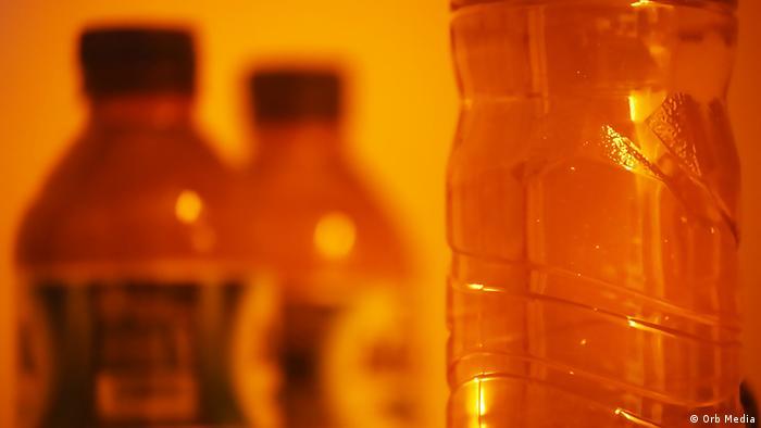 Mikroplastik in Flaschenwasser