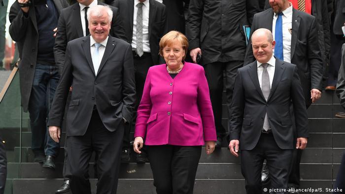 Deutschland Unterzeichnung Koalitionsvertrag Pk