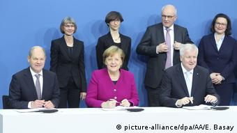 The German government leaders (picture-alliance/dpa/AA/E. Basay)