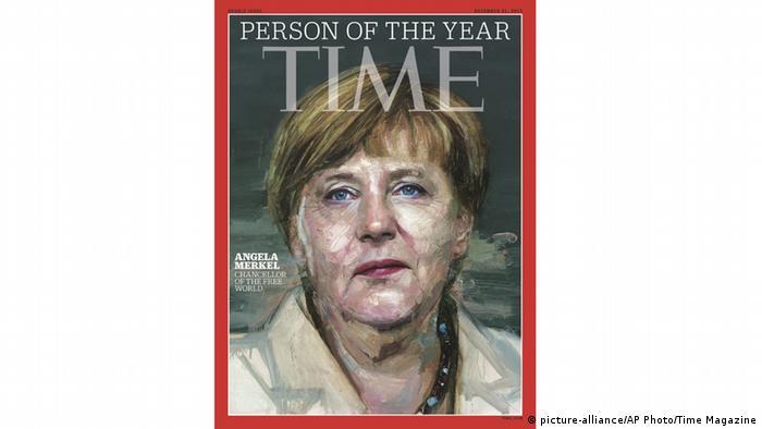 La revista Time nombró a Merkel Persona del año en 2015.