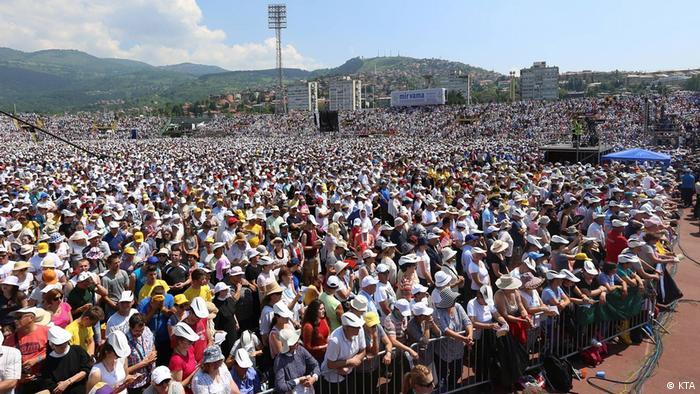 Beziehungen zwischen Bosnien und dem Heiligen Stuhl anlässlich des fünften Jahrestages des Pontifikats von Papst Franziskus (KTA)