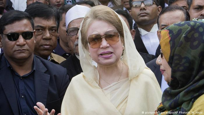 Bangladesh's former Prime Minister Khaleda Zia (picture-alliance/dpa/AP Photo/A. M. Ahad)