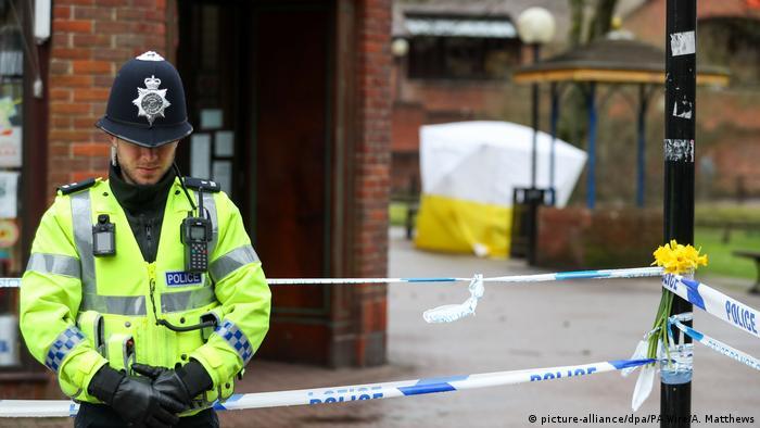 England Giftanschlag gegen Sergej Skripa (picture-alliance/dpa/PA Wire/A. Matthews)