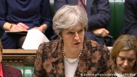 British Prime Minister Theresa May (picture-alliance/dpa/empics/PA Wire)