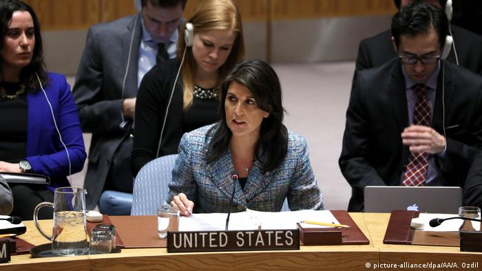Nikki Haley (picture-alliance/dpa/AA/A. Ozdil)