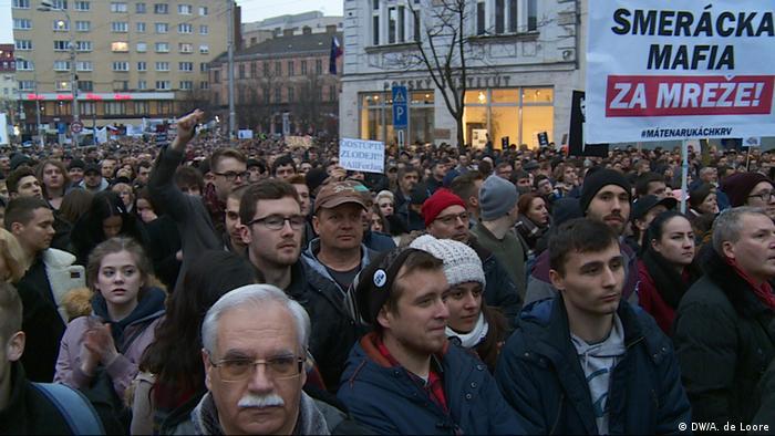 Prosvjedi protiv vlade u Bratislavi (9.3.)