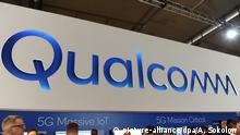 Qualcomm logo (picture-alliance/dpa/A. Sokolow)
