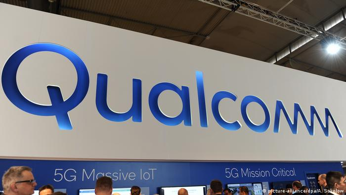 Messestand Qualcomm (picture-alliance/dpa/A. Sokolow)