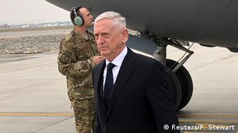 ABD Savunma Bakanı Jim Mattis Kabil'de