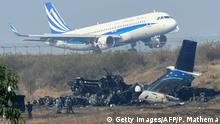 Nepal Flugzeugabsturz in Kathmandu