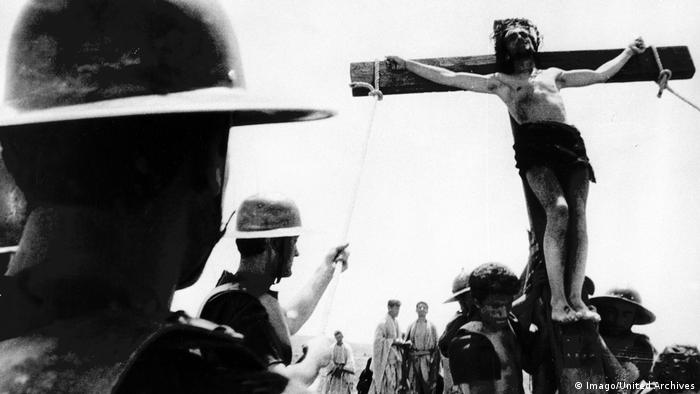 Scene from Pasolini's 1964 film The Gospel According to Saint Matthew (Imago/United Archives)
