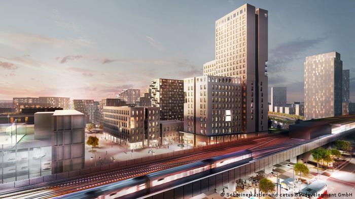 Österreich Bau des HoHo Wien