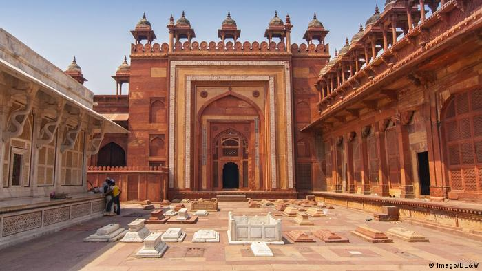 Emperor Akbar moved the capital of the Mughal Empire from Delhi to Fatehpur Sikri, now a world heritage site