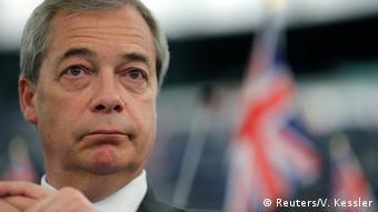 Nigel Farage in European Parliament (Reuters/V. Kessler)