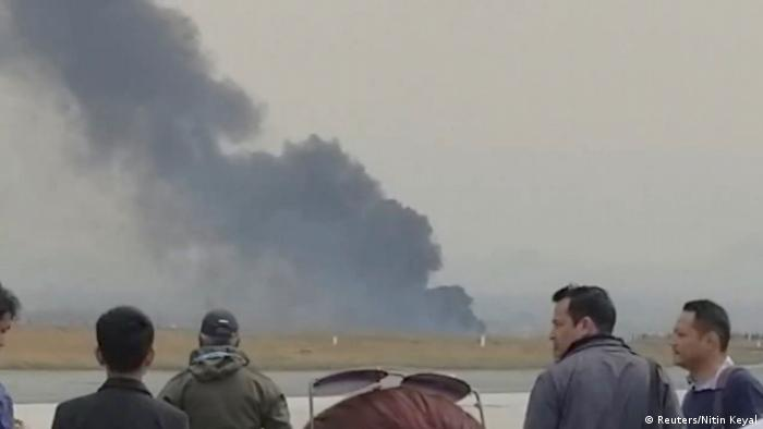 Nepal Flugzeugabsturz in Kathmandu (Reuters/Nitin Keyal)