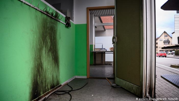 Attack on mosque in Baden-Württemberg (picture-alliance/dpa/S. Schuldt)