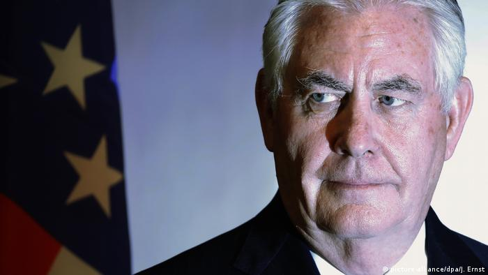 Rex Tillerson, former secretaty of state (picture-alliance/dpa/J. Ernst)