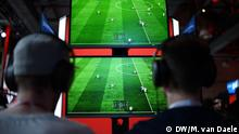 Deutschland eSports Turnier Virtuelle Bundesliga in Düsseldorf