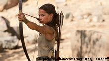 Filmstill Tomb Raider (2018) (picture-alliance/Warner Bros/I. Kitshoff)