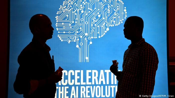 Indien Artificial Intelligence (AI) Day von Intel (Getty Images/AFP/M. Kiran)