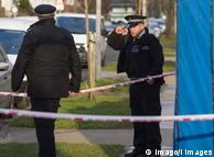 Полицейские возле дома Николая Глушкова