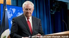 USA Entlassung Außenminister Rex Tillerson PK in Washington