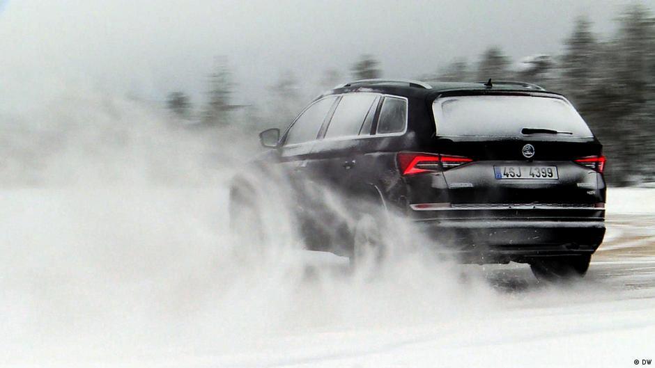 examine it! the skoda kodiaq vs. winter | drive it! - the motor