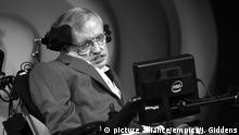 """Stephen Hawking campaign. File photo dated 02/07/17 of Stephen Hawking, as a campaign group backed by the Professor, has been granted permission to challenge Jeremy Hunt in the High Court over plans to allow private companies to play a greater role in the NHS. Issue date: Tuesday January 30, 2018. The physicist has warned that introducing commercial companies to run parts of the health and social services would amount to an """"attack on the fundamental principles of the NHS"""", while campaigners said they feared the Government was trying to sneak the changes through """"during the clamour of Brexit"""". See PA story COURTS NHS. Photo credit should read: Joe Giddens/PA Wire URN:34717768 