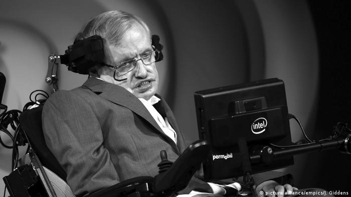 Stephen Hawking (picture alliance/empics/J. Giddens)