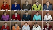 Bildkombo Angela Merkel