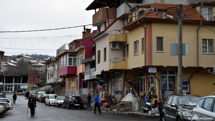 Някои от новите къщи в Черноочене