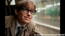 This image released by Focus Features shows Eddie Redmayne as Stephen Hawking in a scene from The Theory of Everything. Redmayne was nominated for an Oscar Award for best actor for his role in the film. The 87th Annual Academy Awards will take place on Sunday, Feb. 22, 2015, at the Dolby Theatre in Los Angeles. (AP Photo/Focus Features, Liam Daniel)  