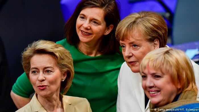 Deutschland Bundestag Kanzlerwahl (Getty Images/AFP/T. Schwarz)