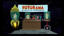 Stephen Hawking bei Futurama