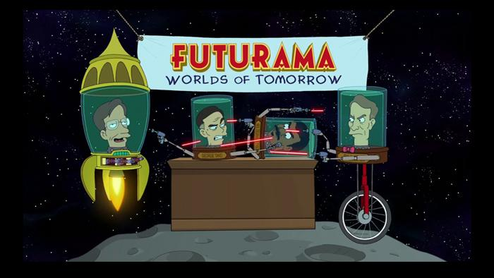 Stephen Hawking in Futurama