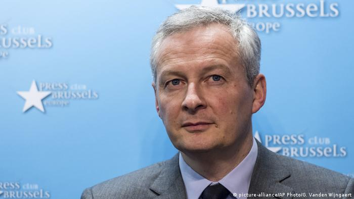 Bruno Le Maire (picture-alliance/AP Photo/G. Vanden Wijngaert)