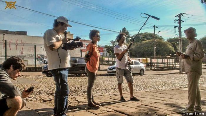 Gravação de O Caso do Homem Errado, de Camila Moraes