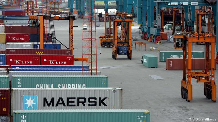 Global Ideas Containerhafen Antwerpen