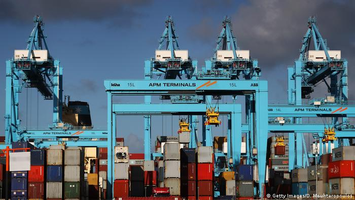 Rotterdam port (Getty Images/D. Mouhtaropoulos)
