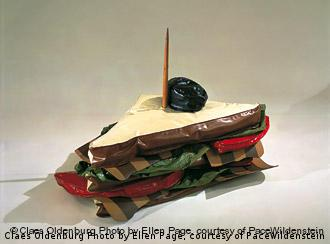 Giant BLT © Claes Oldenburg Photograph by Ellen Page, courtesy of PaceWildenstein