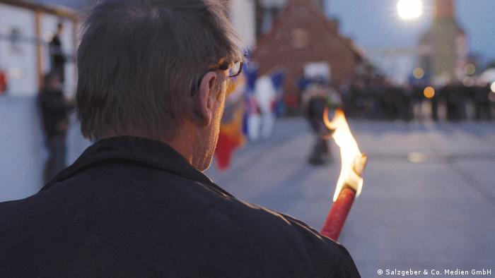 На демонстрации в Деммине