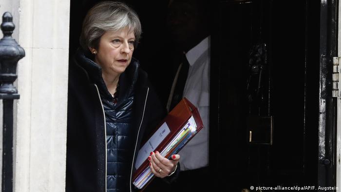 Großbritannien London - Theresa May