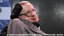 USA New York - Stephen Hawking